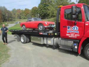 Rod's Towing of Putney, Vermont