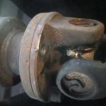driveshaft bolt removed