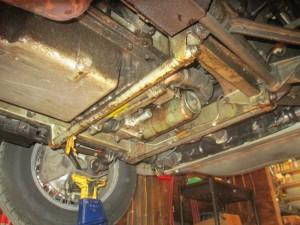 V12 intercooler & oil filter