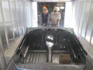 off loading an E-type