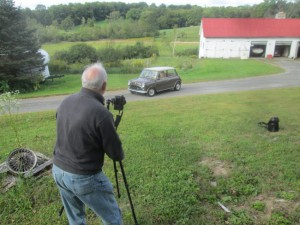 Dave LaChance at work